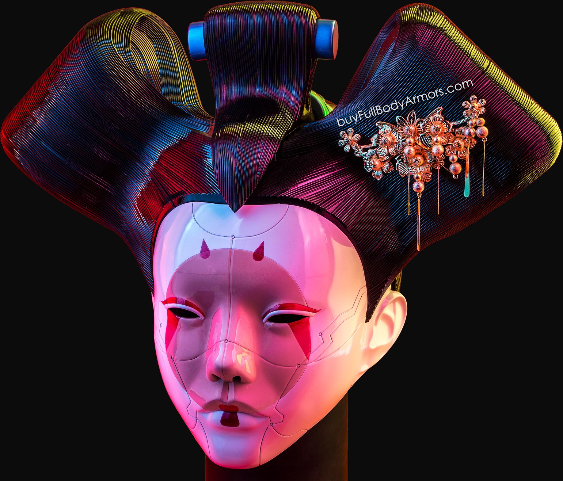ghost in the shell head helmet wearable 1